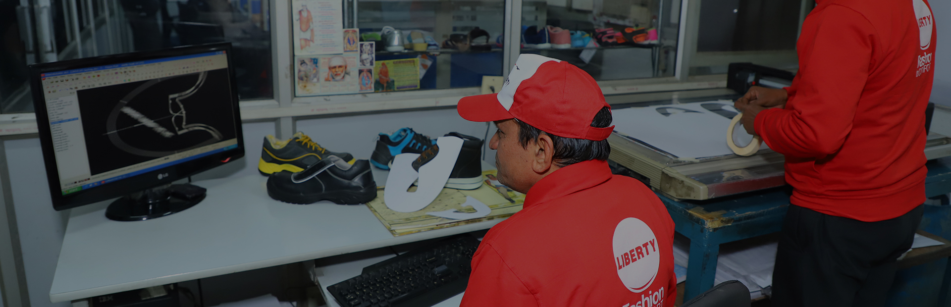 safety shoes manufacturing process