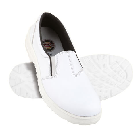 DERBY WASHABLE White Safety Shoes