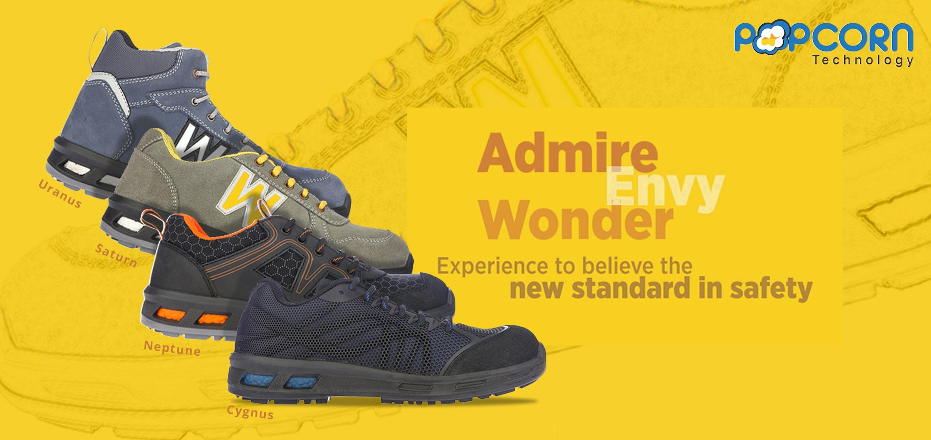 ENVY Safety Shoes
