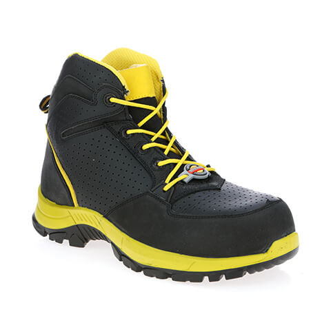 James Black Gents Safety Boot