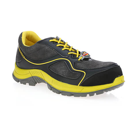 Messi Yellow Gents Safety Shoes