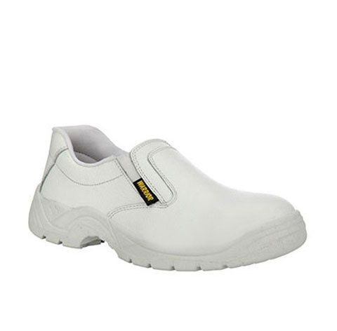 White Gents Safety Shoes
