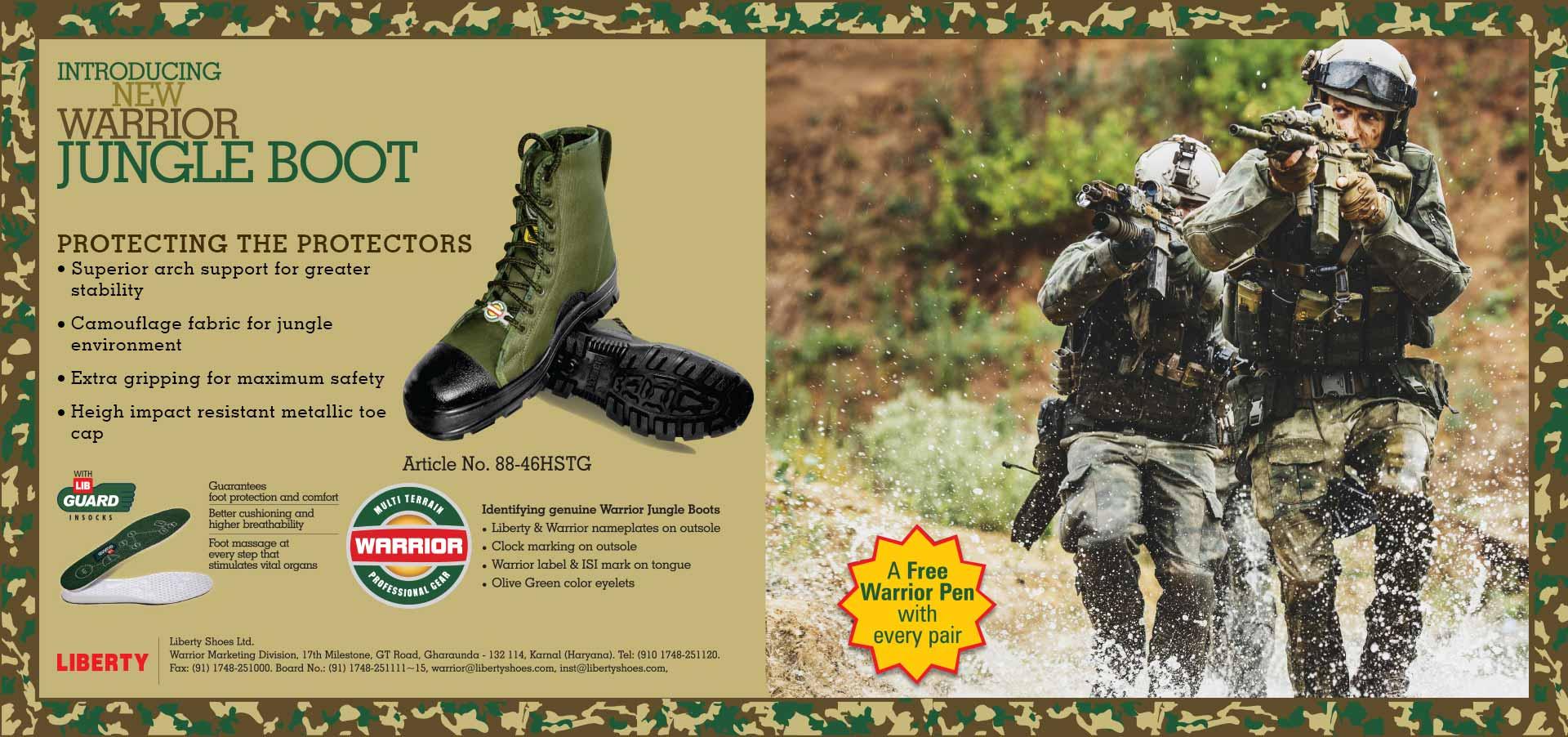 Asli Warrior Jungle Boots